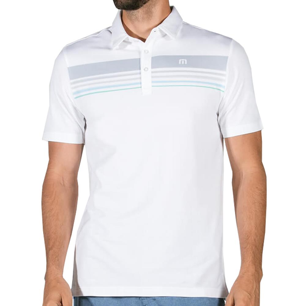 Travis Mathew Men's Bumm Polo White