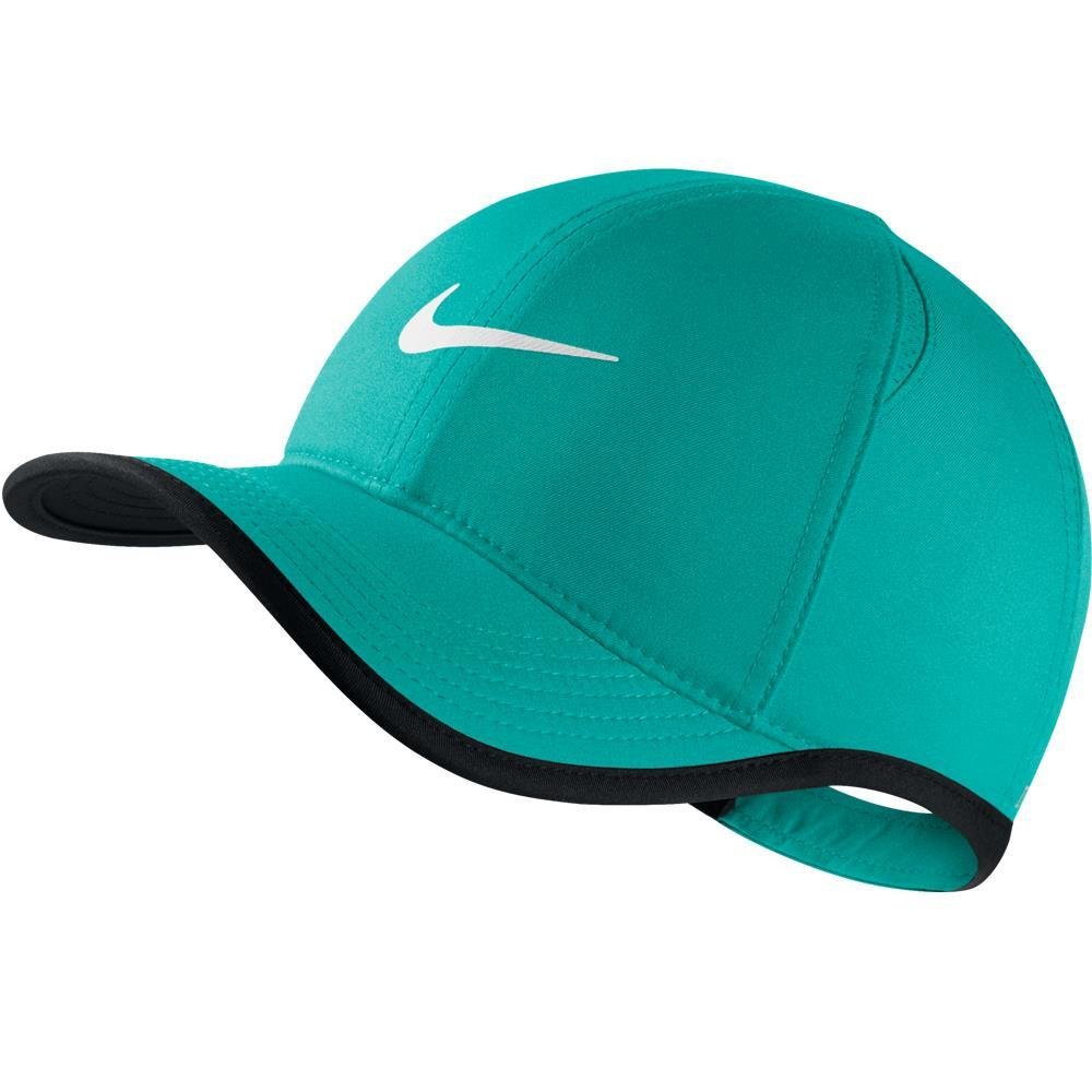 Nike Junior Featherlight Hat Turbo Green