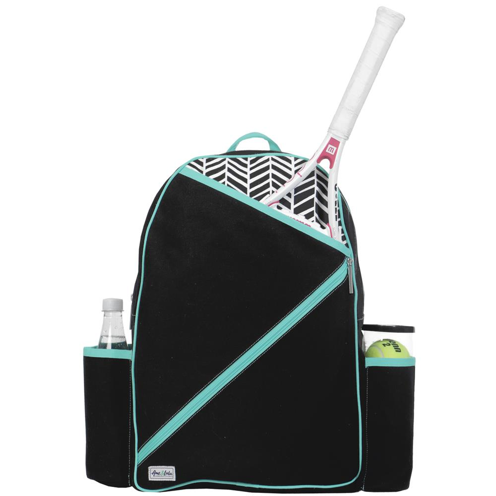 Ame & Lulu Brooks Black Shuttlers Backpack