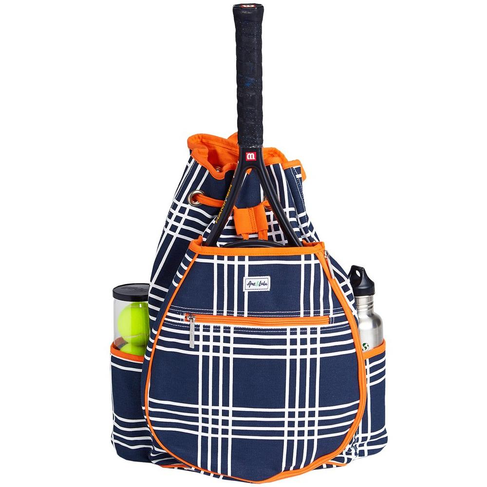 Ame & Lulue Kingsley Kinglsey Abbey Plaid Backpack