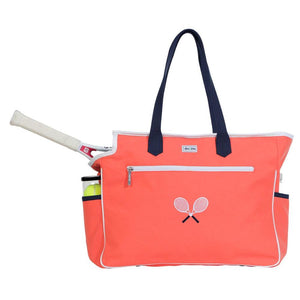 Ame & Lulu Kensington Cross Court Racquet Tote - Coral