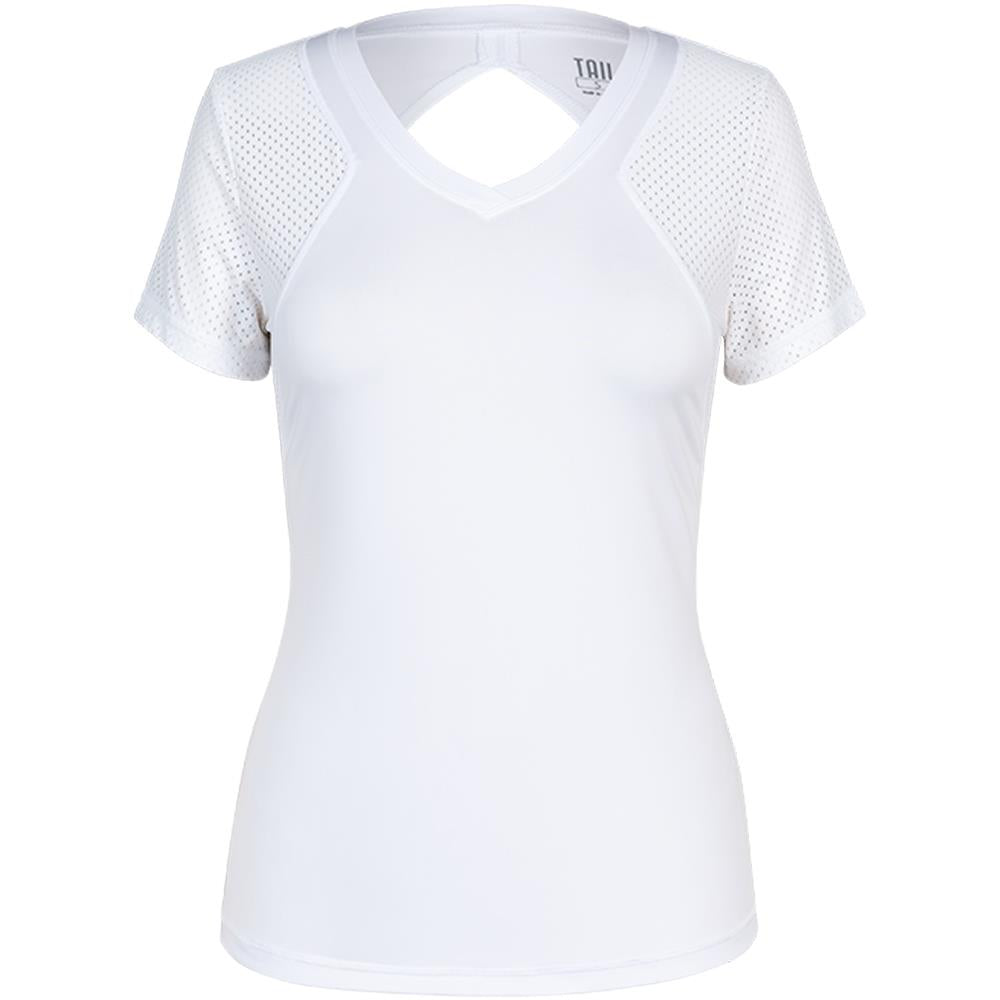 Tail Women's Core Active Princeton Tee - White