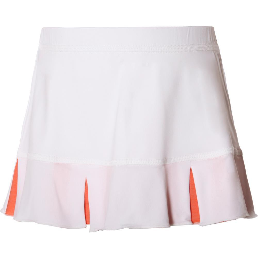 Sofibella Girls Singapore Set Skort - White/Peachy