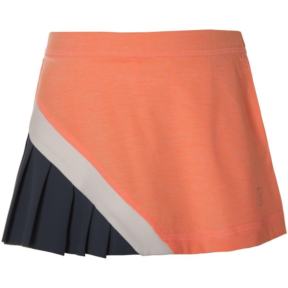 Sofibella Girls Singapore Starry Skort - Peachy/Steel Blue
