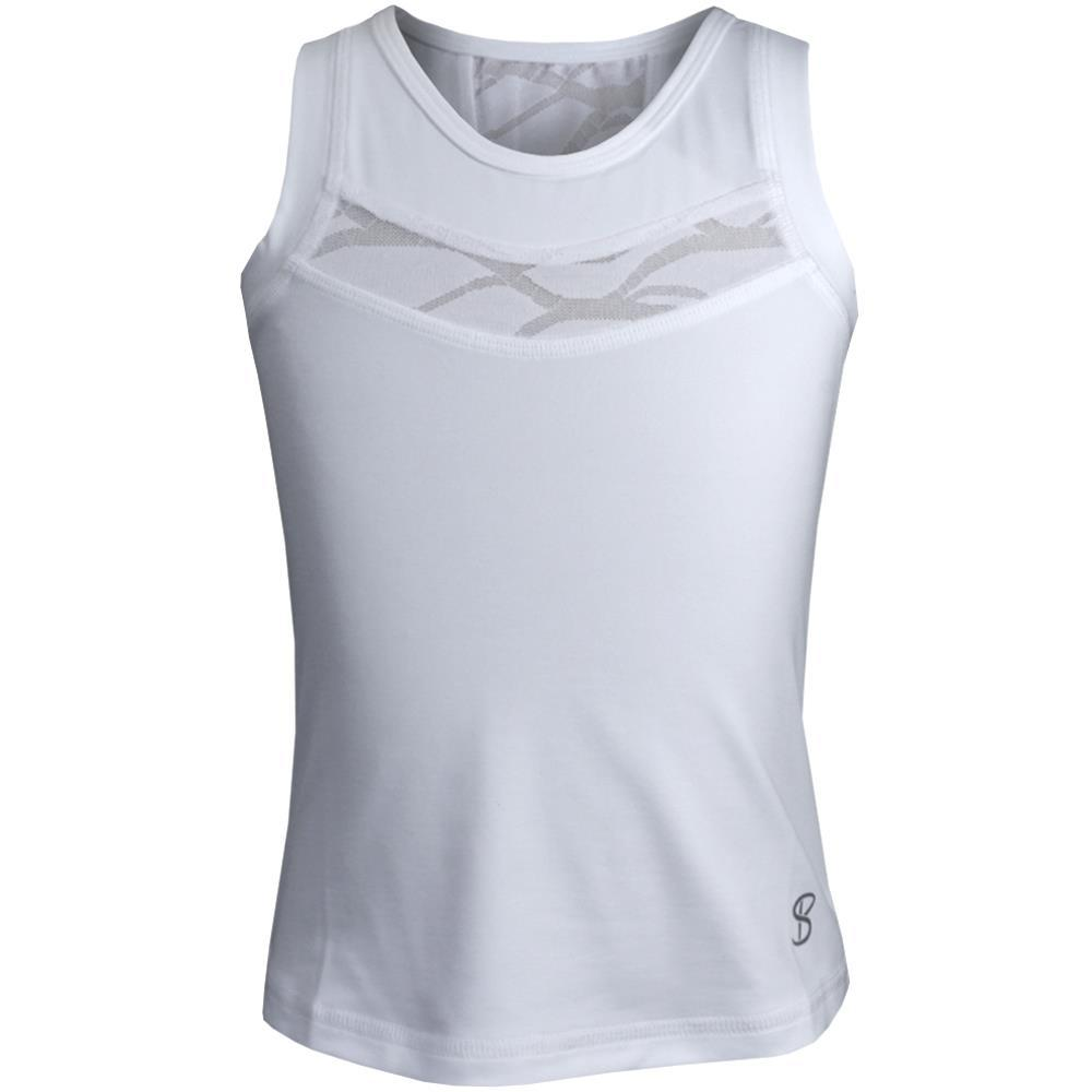 Sofibella Girls Miami Current Tank - White
