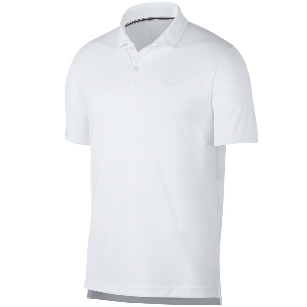 Nike Men's Team Polo - White ?id=4114079514714