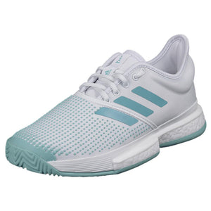 adidas Women's SoleCourt Boost Parley - White