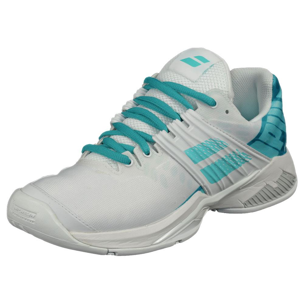 Babolat Women's Propulse Fury - White/Mint Green ?id=4778469720154