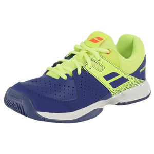Babolat Junior Pulsion - AC - Blue/Fluo Aero