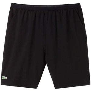 Lacoste Men's Sport Stretch Tennis Short - Black