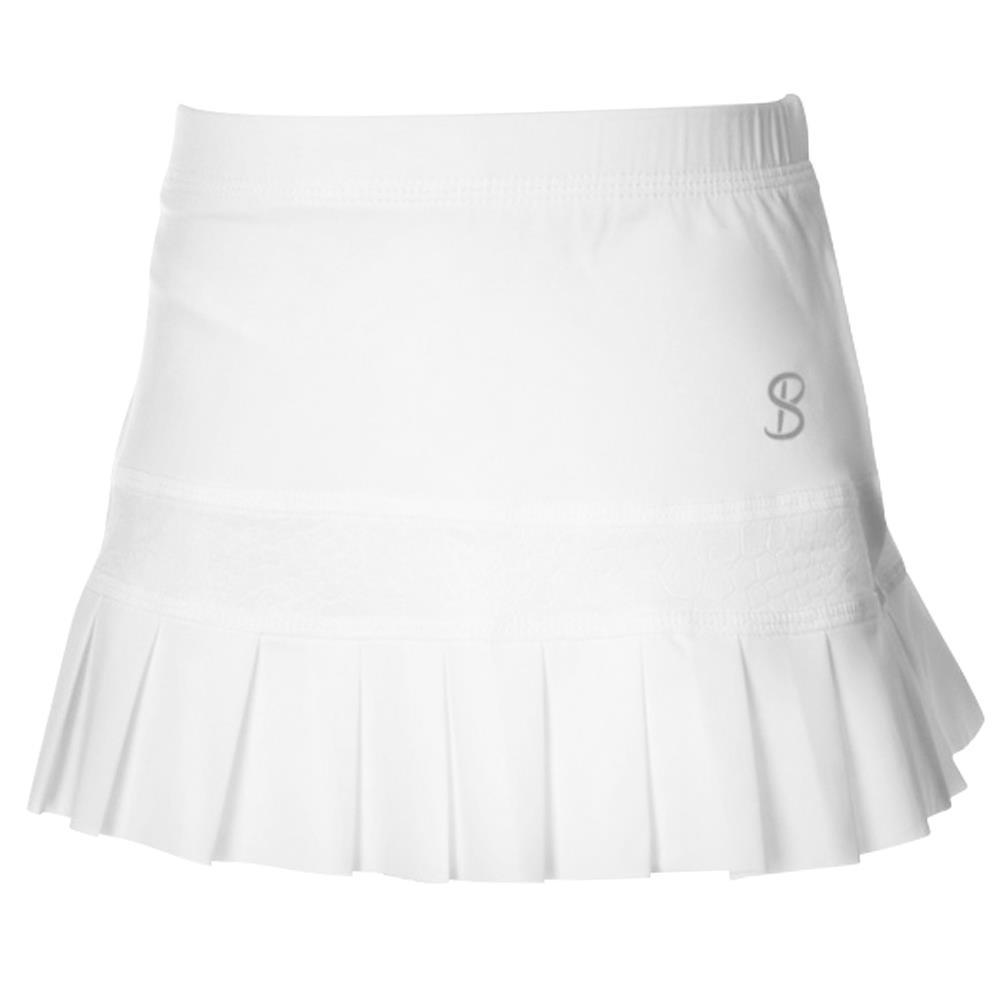 Sofibella Girls Athena Pleated Skort - White