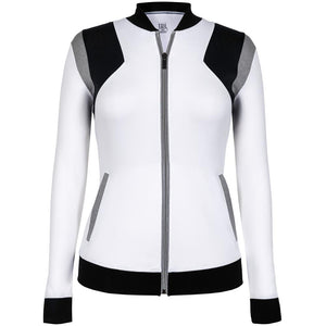 Tail Women's Essentials Etta Jacket - White/Black/Grey