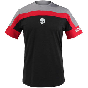 Hydrogen Men's Tech Tournament Crew - Grey Melange/Red