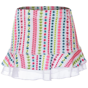 Sofibella Girls UV Colors Ruffle Skort - Candy Print