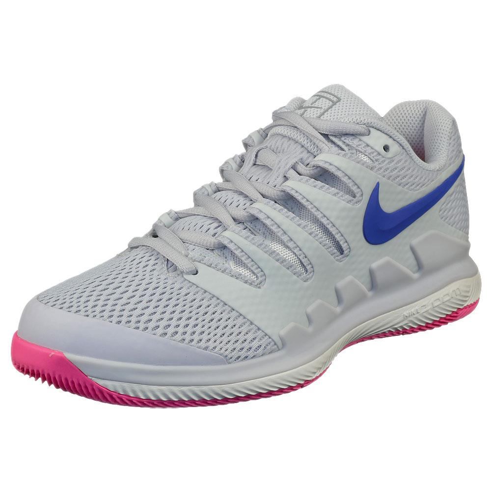 Nike Women's Air Zoom Vapor X - Platinum/Blue