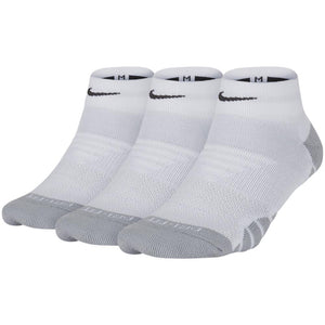 Nike Unisex Everyday Max Cushion Ankle Socks 3 Pack - White