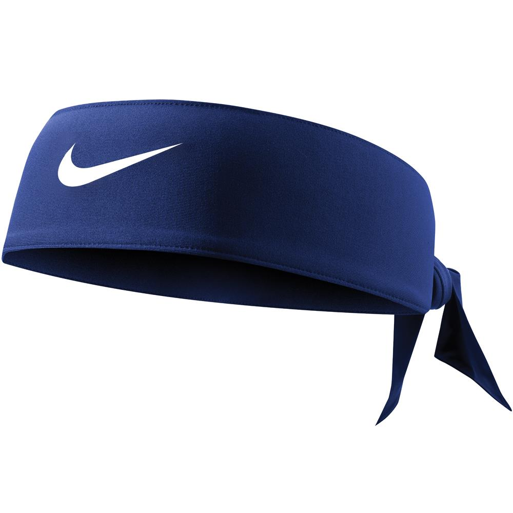 Nike Dri Fit Head Tie 3.0 - Midnight Navy/White