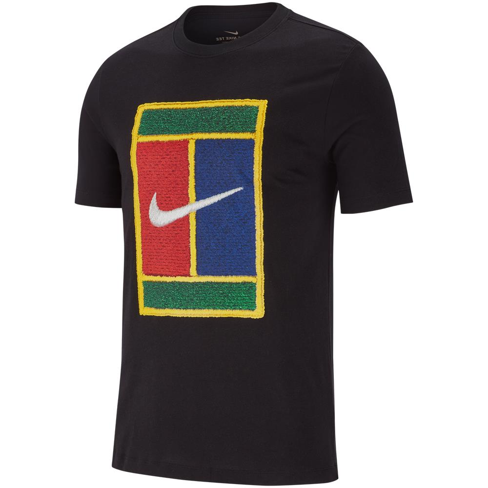 Nike Men's Heritage Court Tee - Black