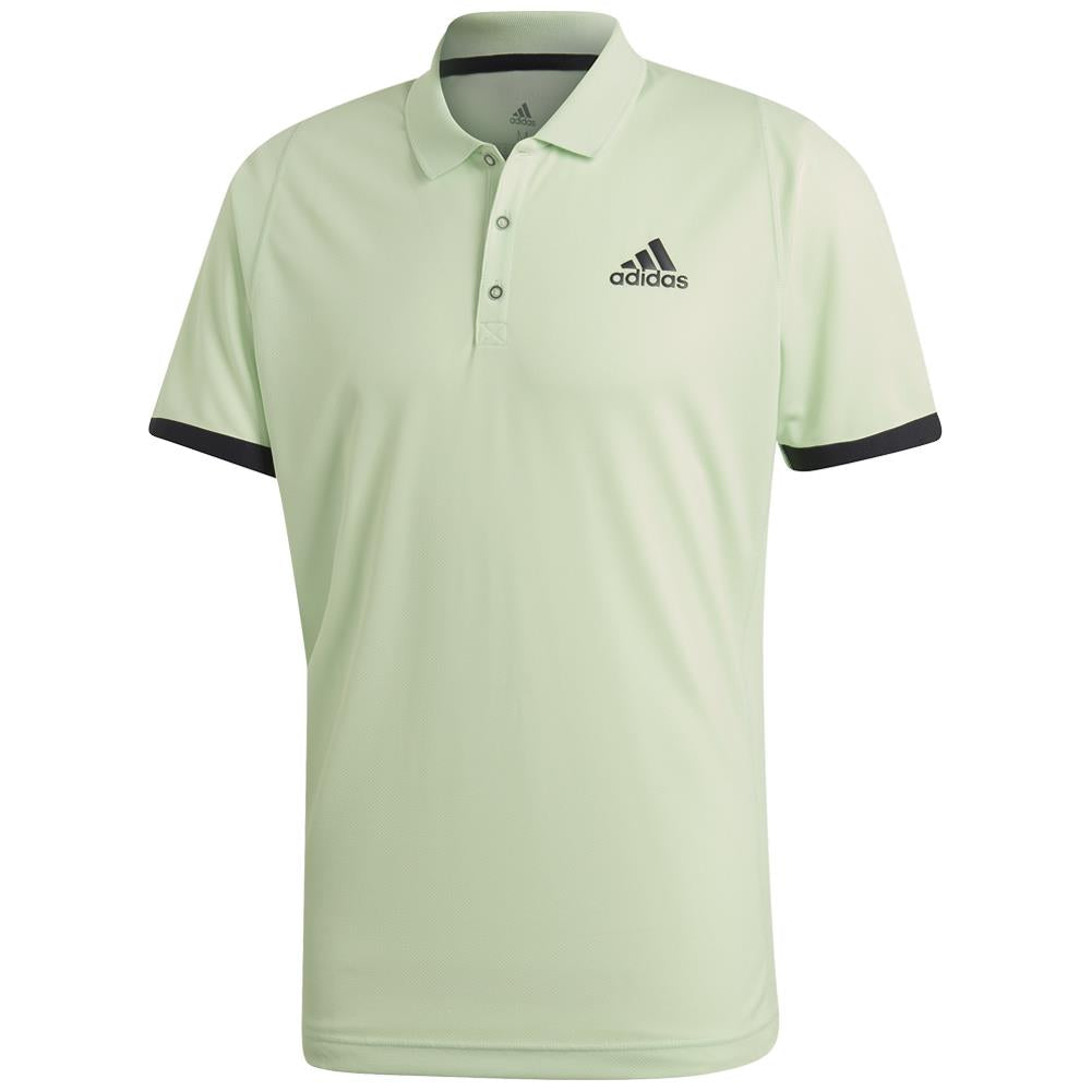adidas Men's NY Polo - Glow Green