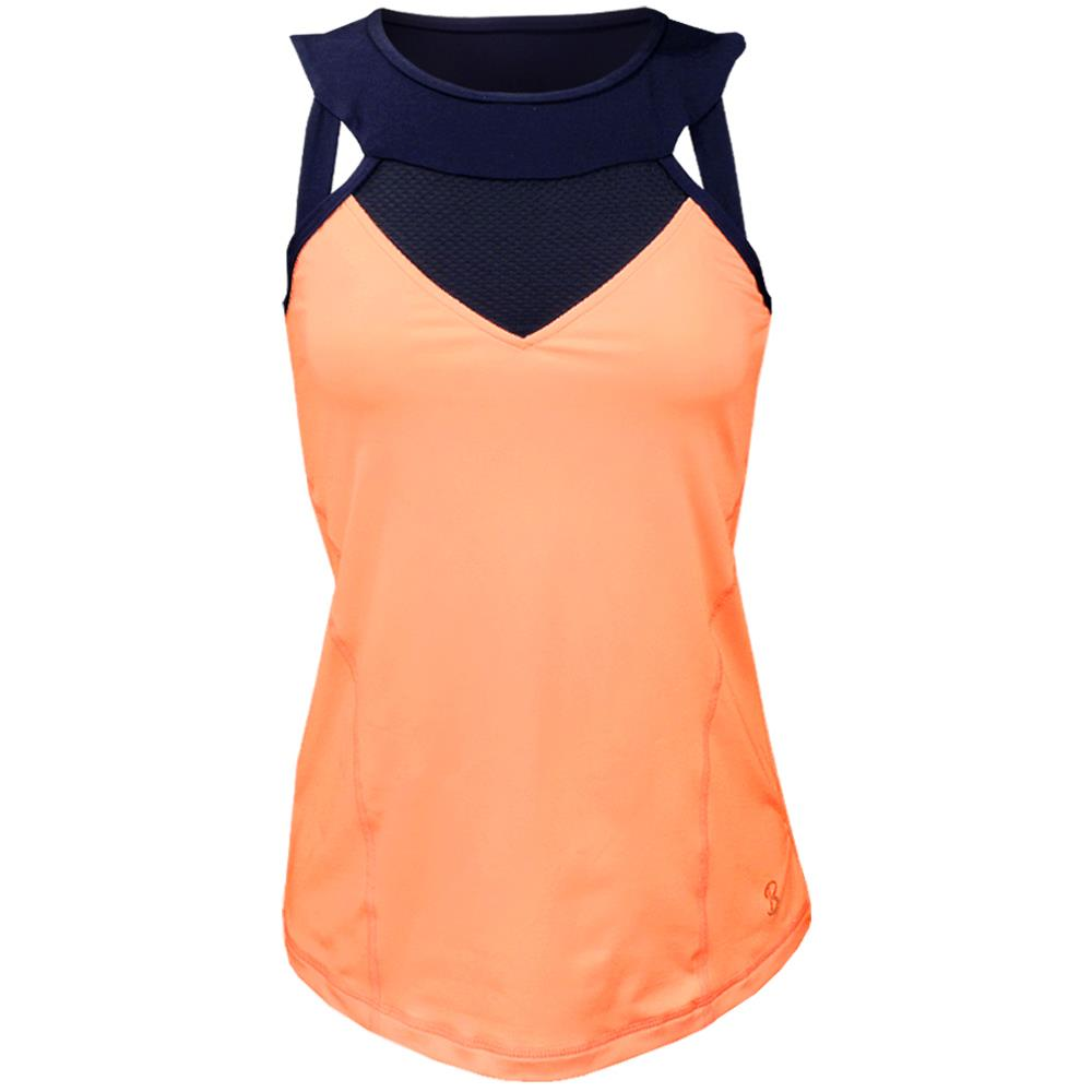 Sofibella Women's Sorrento High Neck Tank - Souffle
