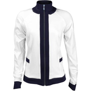 Sofibella Women's Sorrento Grand Glam Jacket - White/Navy