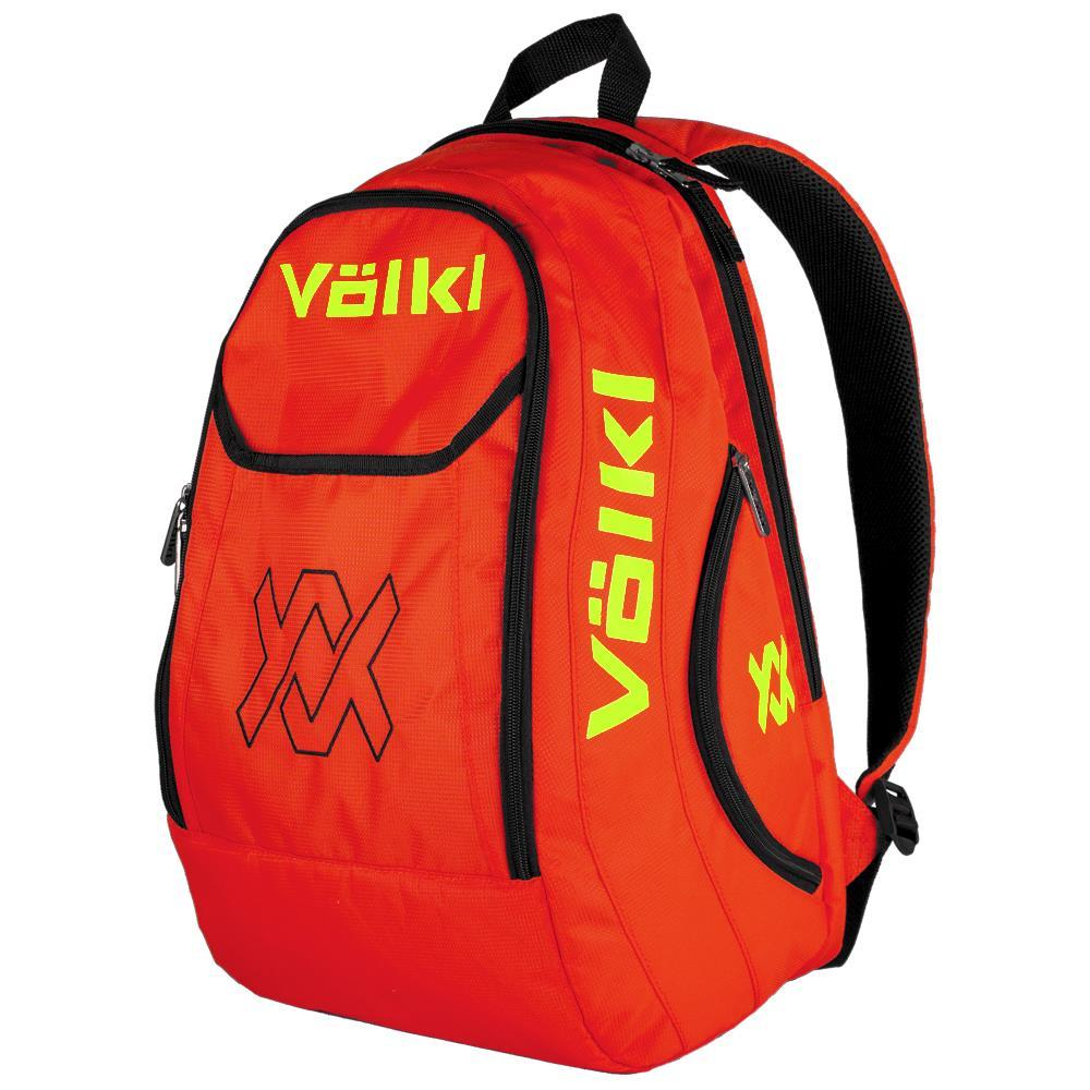 Volkl Team Backpack - Lava/Neon Yellow
