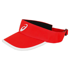 Asics Unisex Performance Visor - Red