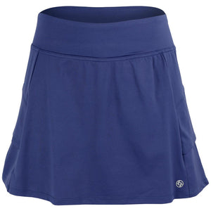 Lija Women's Get in the Game Elevate Skirt - Midnight Blue