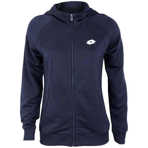 Lotto Women's Team Full Zip Hoody - Navy