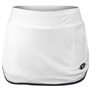 Lotto Girls Team Squadra II Skirt - White