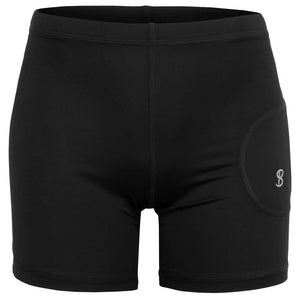 "Sofibella Women's UV Staples 5"" Shortie - Black"