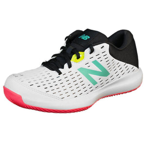New Balance Junior KC696TW4 - White/Black