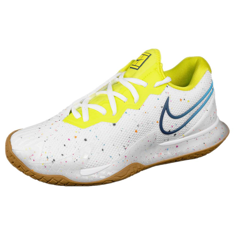 Nike Women's Air Zoom Cage 4 - White/Valerian Blue
