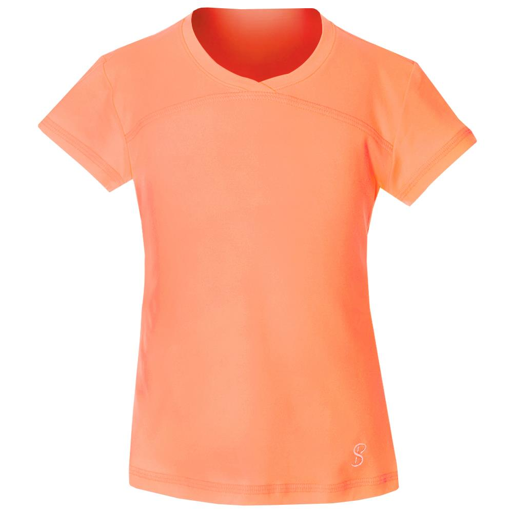 Sofibella Girls UV Colors Short Sleeve - Sorbet ?id=14466411429978