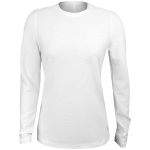 Sofibella Women's Air Flow Longsleeve Top - White