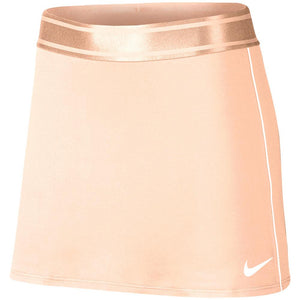 Nike Women's Court Straight Longer Length Skirt - Washed Coral
