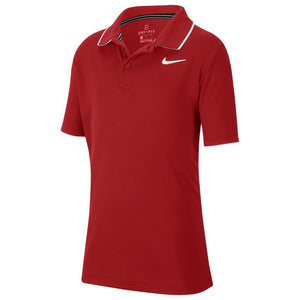 Nike Boys Team Polo - Gym Red