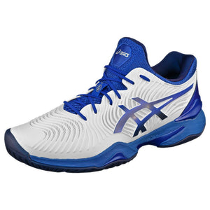 Asics Men's Court FF Novak - White/Asics Blue