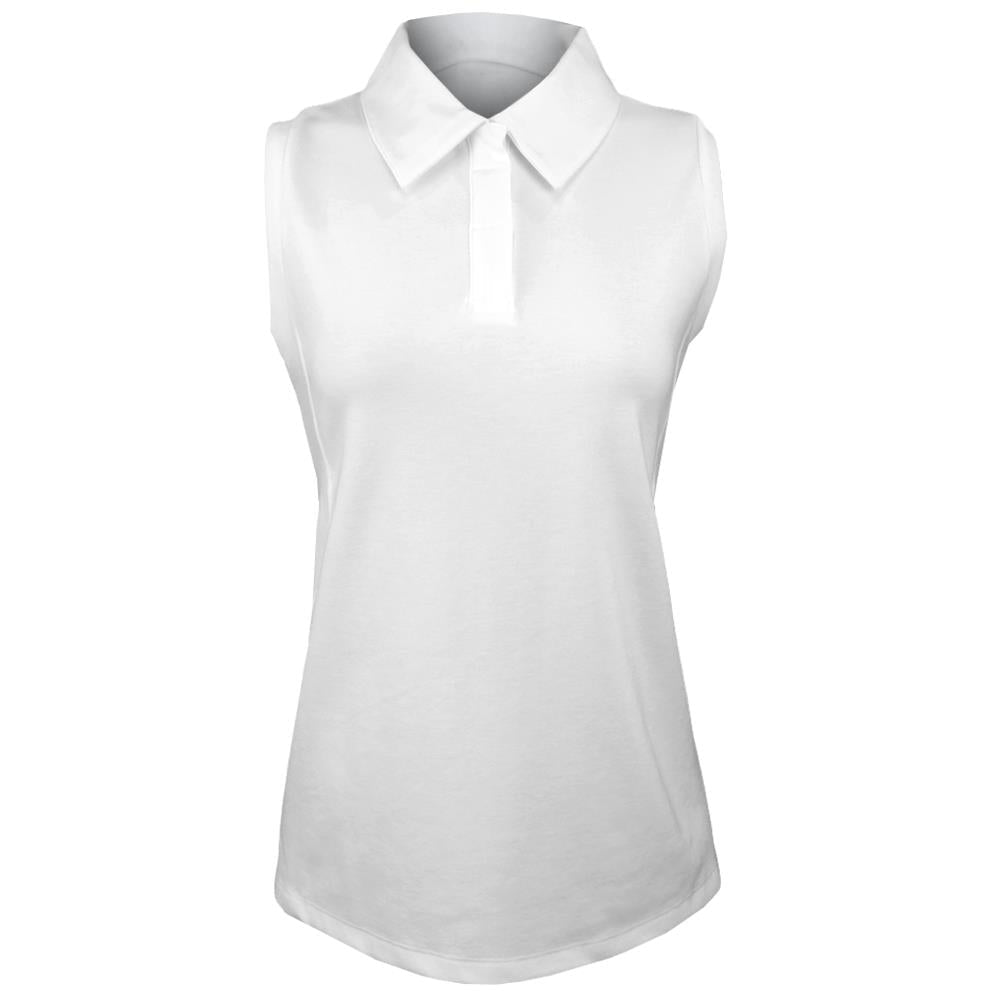 Lole Women's Cross Court Sleeveless Polo - White
