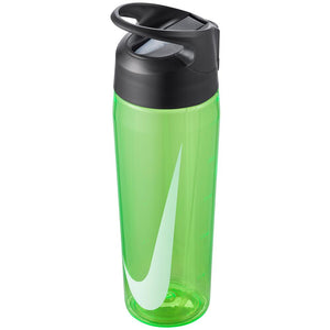 Nike Water Bottle TR Hypercharge Straw 24 oz - Green Spark