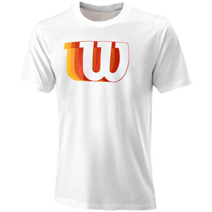 Wilson Men's Blur W Tech Tee - White