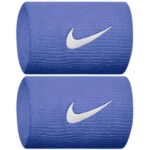 Nike Swoosh Premier Doublewide Wristband - Royal Pulse