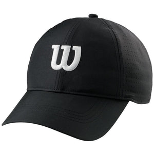 Wilson Ultralight Tennis Hat - Black