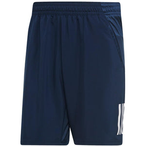 adidas Men's Club 3 Stripe Short - Collegiate Navy