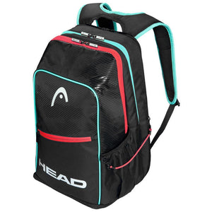 Head Tour Pickleball Packpack - Black/Teal