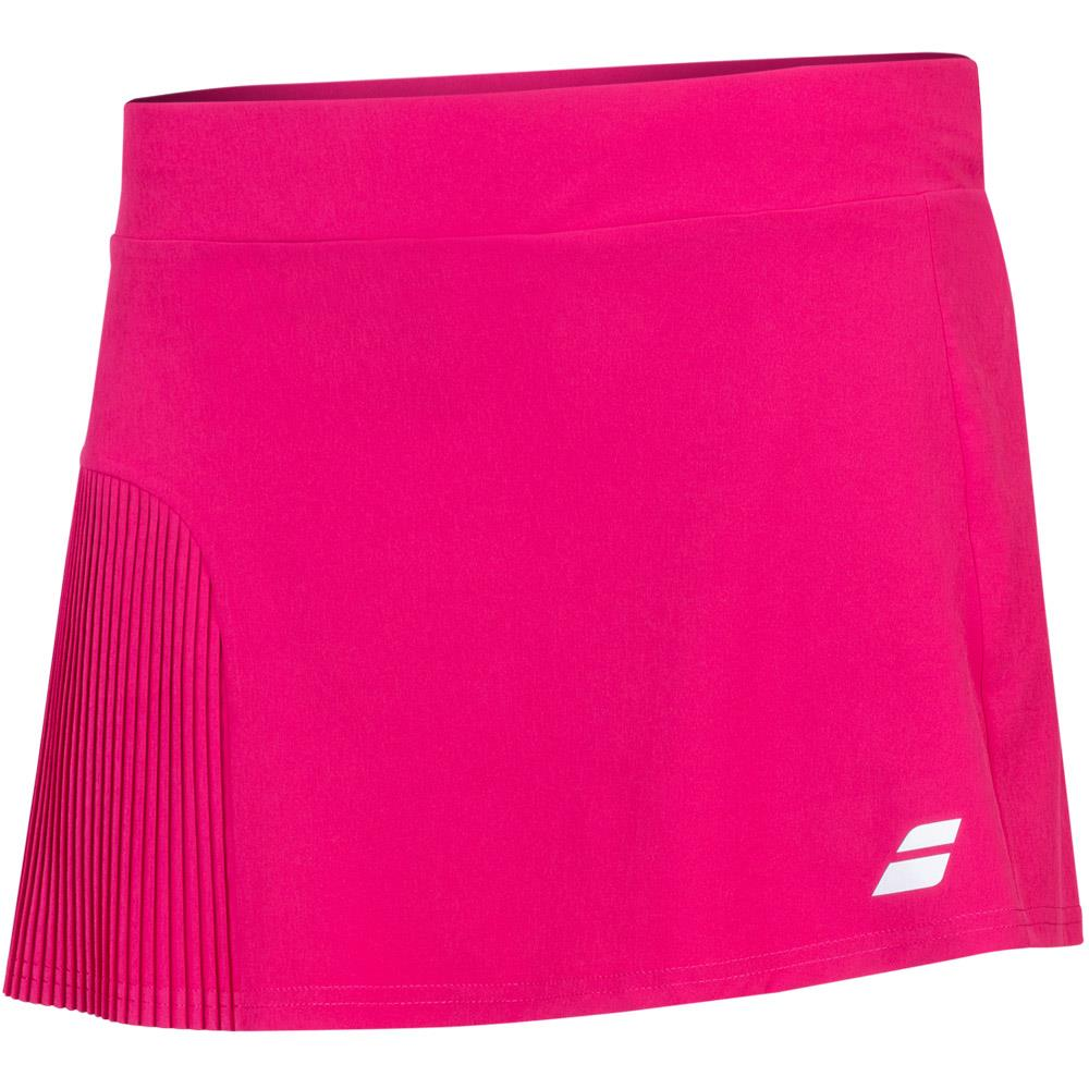 Babolat Girls Compete Skirt - Vivacious Red