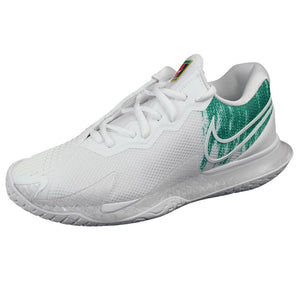 Nike Women's Air Zoom Cage 4 - White/Clover Green