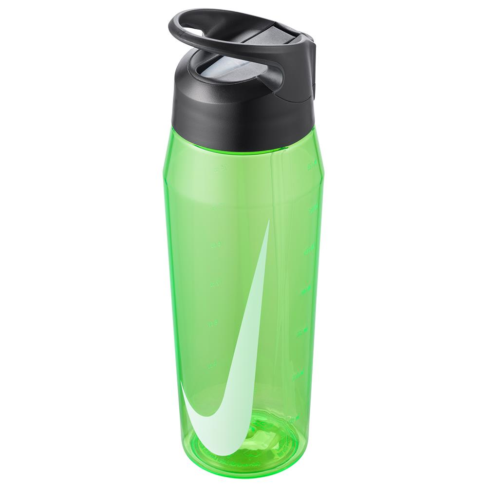 Nike Water Bottle TR Hypercharge Straw 32 oz - Green Spark