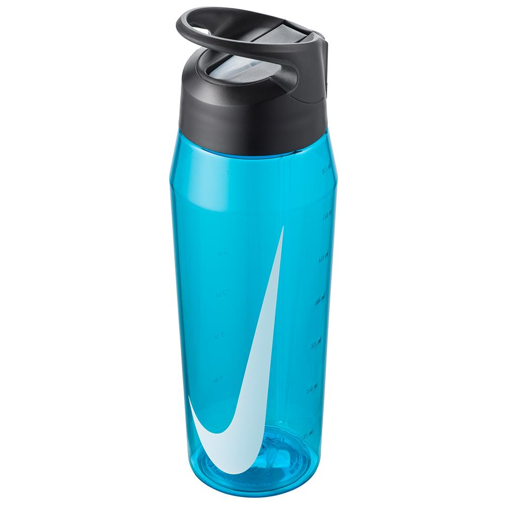Nike Water Bottle TR Hypercharge Straw 32 oz - Blue Fury