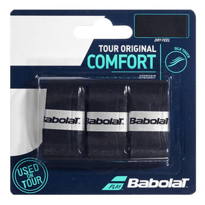 Babolat Tour Original Overgrip - 3 Pack - Black